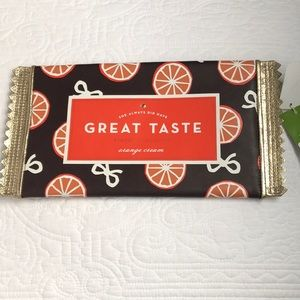 Kate spade chocolate packet clutch